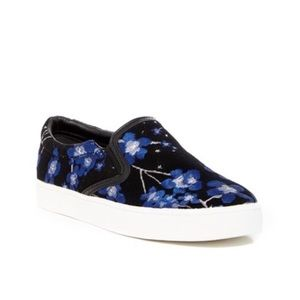ccde1619020d1 Sam Edelman Marvin Floral Slip On Sneakers Sz 9.5